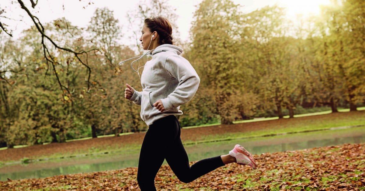 veja as vantagens de correr no frio