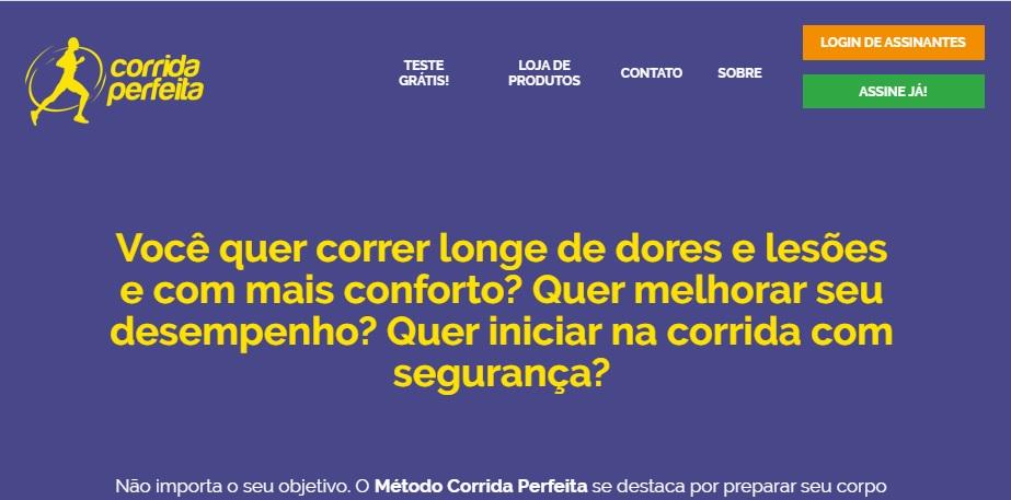 CORRIDA PERFEITA SITE
