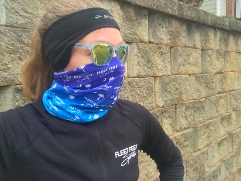Correr com máscara