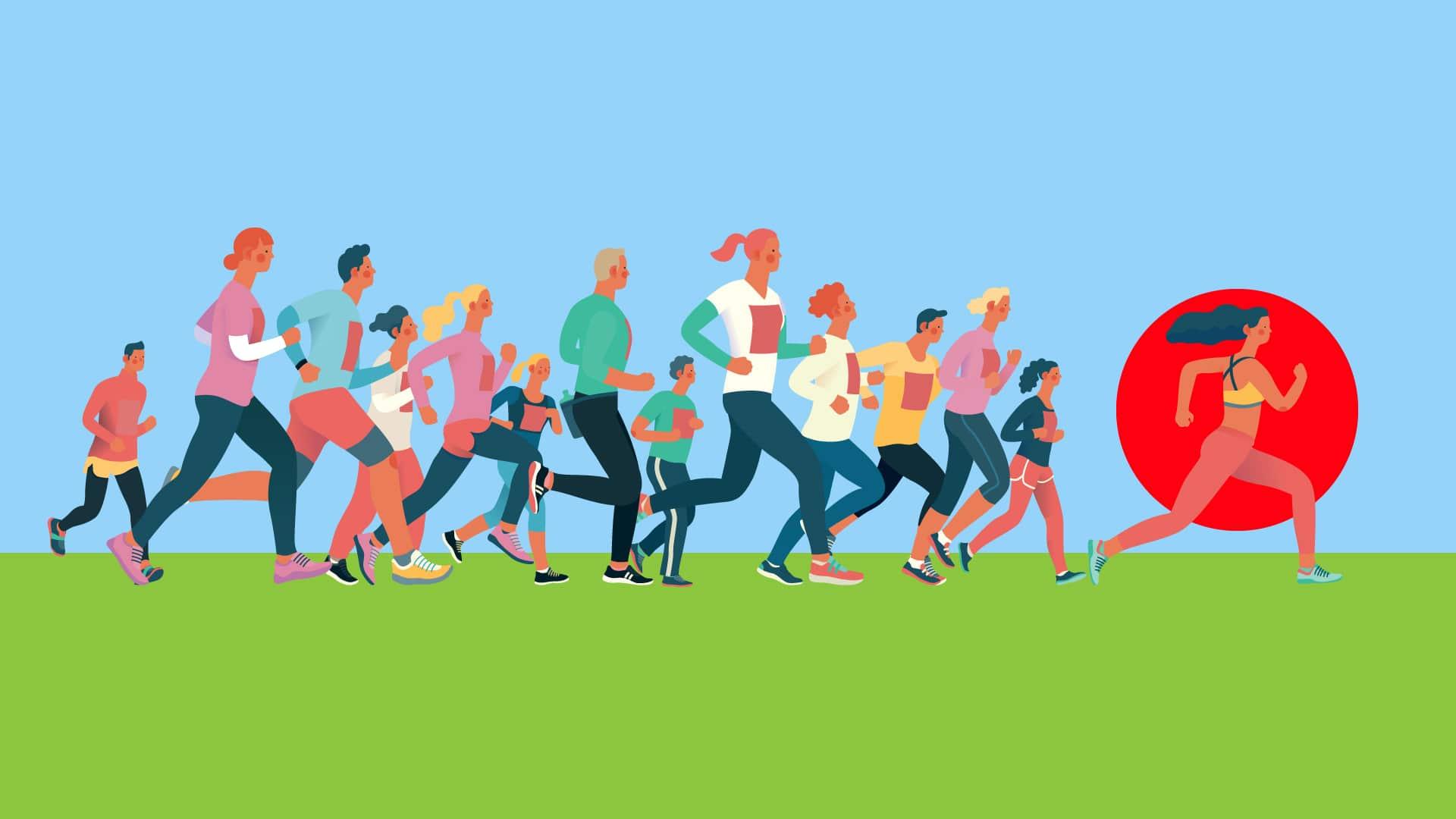 correr menstruada melhorando o rendimento