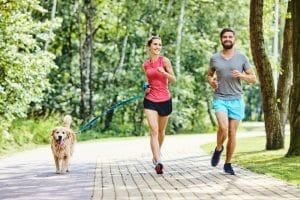 Veja como correr com cachorro com segurança